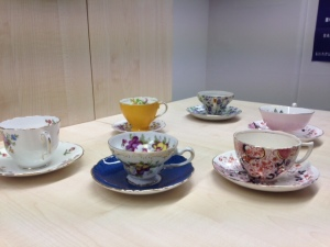 My collection of tea cups